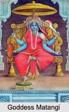 Goddess Matangi, Ten Mahavidya, Indian Goddess