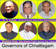Governors of Chhattisgarh