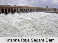 Krishna Raja Sagara Dam, Karnataka