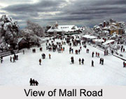 Mall Road, Shimla, Himachal Pradesh