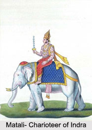 Matali, Charioteer of Indra