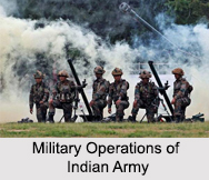 Military Operations of Indian Army