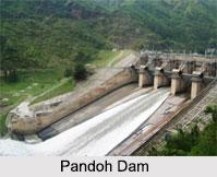 Pandoh Dam, Mandi District, Himachal Pradesh