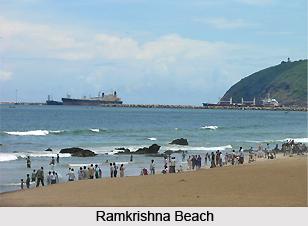 Ramkrishna Beach, Visakhapatnam, Andhra Pradesh
