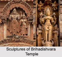 Sculpture of Brihadishvara Temple, Tamil Nadu