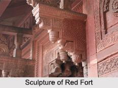 Sculpture of Red Fort, Indian Sculpture