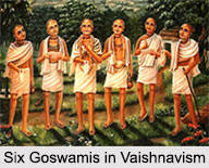 Six Goswamis in Vaishnavism