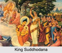 King Suddhodana, King of Kapilavastu