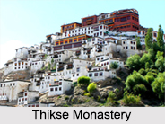 Thikse Monastery, Leh, Jammu and Kashmir