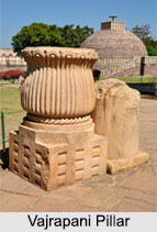 Vajrapani Pillar at Sanchi