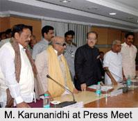 M. Karunanidhi, Former Chief Minister of Tamil Nadu