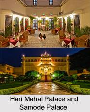 Palaces in Jaipur, Rajasthan