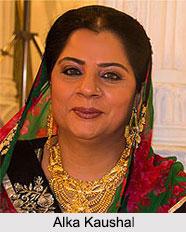 Alka Kaushal, Indian TV Actor