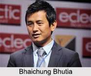 Bhaichung Bhutia, Indian Football Player