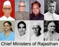 Chief Ministers of Rajasthan