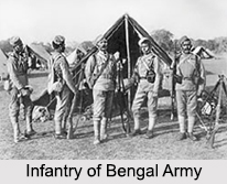 Bengal Army, Presidency Armies in British India