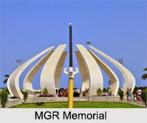 MGR Memorial, Marina Beach, Chennai
