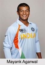 Mayank Agarwal, Indian Cricket Player