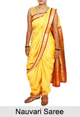 Nauvari Saree, Costume of Maharashtra