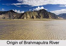 Origin of Brahmaputra River