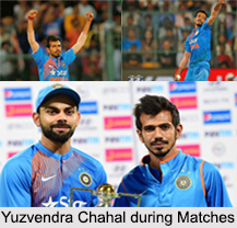 Yuzvendra Chahal, Indian Cricketer