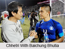 Sunil Chhetri, Indian Football Player