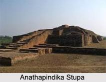 Anathapindika Stupa, Shravasti, Uttar Pradesh