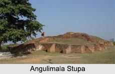 Angulimala Stupa, Shravasti, Uttar Pradesh