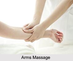 Arms Massage, Aromatherapy