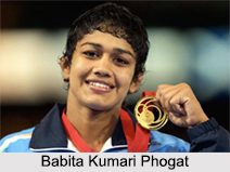 Babita Kumari Phogat, Indian Wrestler