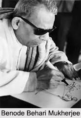 Benode Behari Mukherjee, Indian Painter