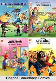 Chacha Chaudhary Comics, Indian Comics