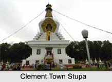 Clement Town Stupa, Dehradun, Uttarakhand