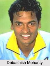 Debashish Mohanty, Indian Cricketer