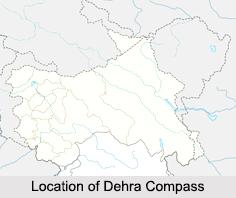 Dehra Compass/ Kompas, Himalayan Mountain Range