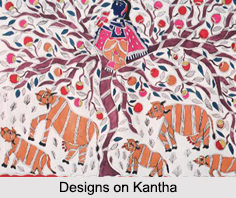 Symbols and Motifs of Folk Art, Crafts of West Bengal