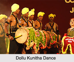 Dollu Kunitha, Folk Dance of Karnataka