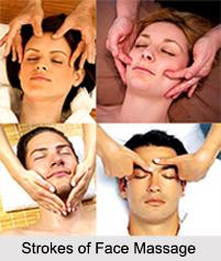 Face Massage, Aromatherapy