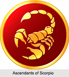 Ascendants of Scorpio, Zodiacs