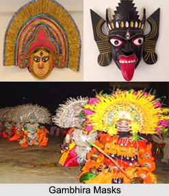 Gambhira Masks, Mask Making for Regional Folk Dance