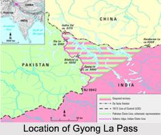 Gyong La, Himalayan Mountain Range