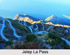 Jelep La Pass, Himalayan Mountain Range