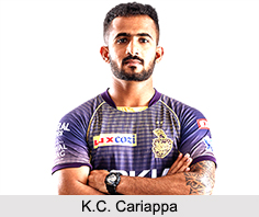 K.C. Cariappa, Indian Cricket Player
