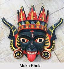 Mukha Khela, Gambhira Masks