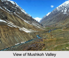 Mushkoh Valley, Himalayan Mountain Ranges