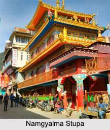 Namgyalma Stupa, Dharamsala, Himachal Pradesh