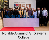 Notable Alumni of St. Xavier's College, Mumbai