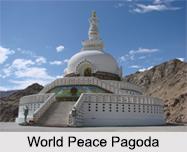 Peace Pagoda, Wardha, Maharashtra