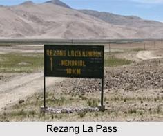 Rezang La, Himalayan Mountain Range