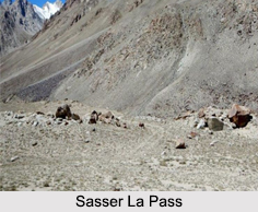Sasser Pass, Himalayan Mountain Range